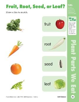 Unit 2: We Eat Plants (Skill Sharpeners: Science)