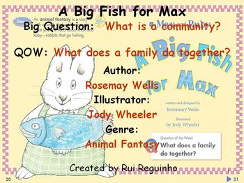 Unit 2 Week 1 - A Big Fish for Max - Lesson Bundle (Versio