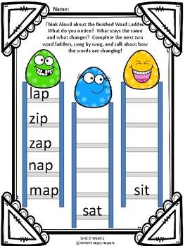 Word Work - Unit 2 - Weeks 1 and 2