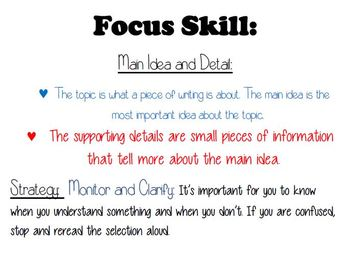 """Unit 2 Week  Reading Street Lesson 1 """" Penguin Chick"""" Focus Wall"""