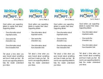 Unit 2 Week 2-Reader's Response (2nd Grade Wonders)