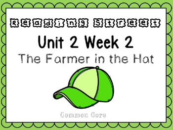 Unit 2 Week 2. Reading Street Power Point. The Farmer in the Hat.