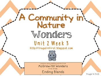 Wonders: Unit 2 Week 3: ending blends
