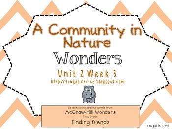 Wonders: Unit 2 Week 3: ending blends
