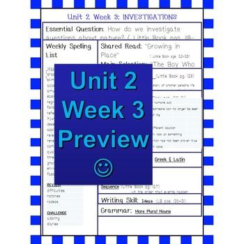Unit 2 Week 3 Skills Guide Grade 5 Grade McGraw Hill Wonders Boy Who Drew Birds
