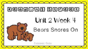 Unit 2 Week 4 Kindergarten Reading Street PowerPoint. A Bed for the Winter.