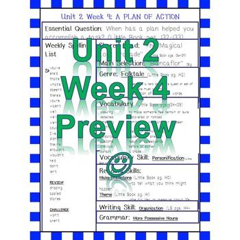 Unit 2 Week 4 Skills Guide 5 Grade based McGraw Hill Reading Wonders Blancaflor