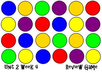 Unit 2 Week 4 The Big Circle. Smart Notebook Review Game.