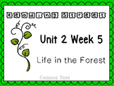 Unit 2 Week 5 Life In The Forest Reading Street Power Point. First Grade