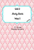 Unit 2 Week 5 Study Guide- Reading Wonders