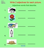 Unit 2 Where Animals Live Interactive Whiteboard Lessons