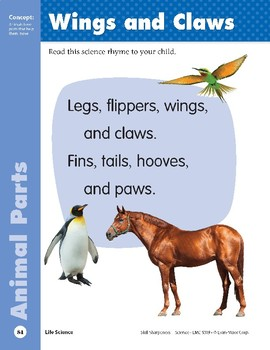 Unit 2: Wings and Claws (Skill Sharpeners: Science)