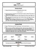Danco Phonics Unit #2 - r, h, j, n, p, and l