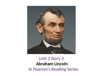 2nd grade   story 2.2 Abraham Lincoln words