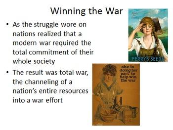 Unit 20: World War I (World History/Global 10 Ch 27)