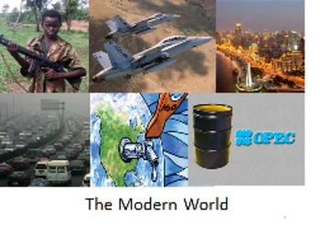 Unit 24:The Modern World (World History/Global 10)