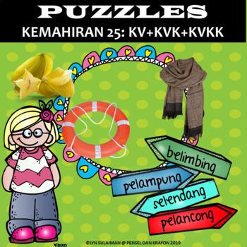 Unit 25: Puzzle KV+KVK+KVKK (Freebie)