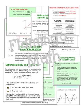 Calculus: Differentiation SMARTBOARD Lessons Bundle