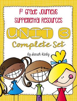 Unit 3 - 1st Grade Journeys Supplemental Resources