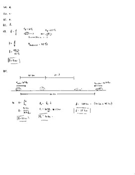 Unit 3 Activity 1 - Basic Speed and Velocity Using v = d/t