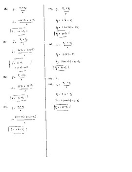 Unit 3 Activity 5 - Linear Motion with Average Velocity of Vi and Vf