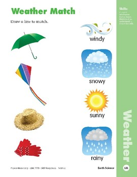 Unit 3: Any Kind of Weather (Skill Sharpeners: Science)