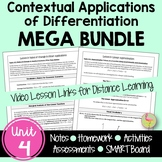 Applications of Differentiation MEGA Bundle (Calculus - Unit 3)