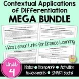 Contextual Applications of Differentiation MEGA Bundle (Calculus - Unit 4)