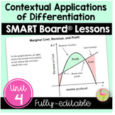Calculus: Applications of Differentiation SMART Board® Bundle
