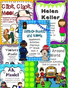 Unit 3 Bundle 2nd Grade Supplement Activities