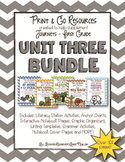Unit 3 Bundle Journeys First Grade Print and Go