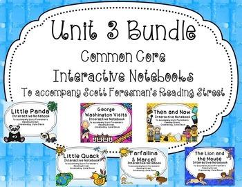 Unit 3 Bundle Common Core Interactive Notebook Journal