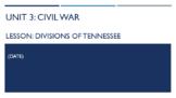 Unit 3 Bundle - Tennessee in the Civil War and Reconstruction