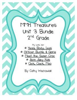 Unit 3 Bundle Treasures MMH 2nd Grade