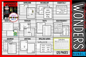 Unit 3 Bundle WONDERS 2nd Grade