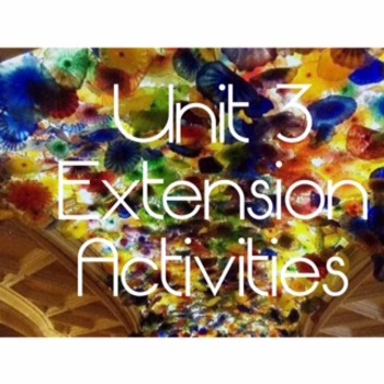 """Code X Extension Activities for Unit 3, """"Zebra"""" & """"Letters to a Young Artist"""""""