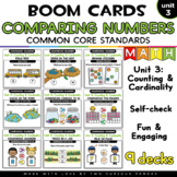 Unit 3: Comparing Numbers for Boom Cards™