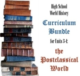 Units 3-4 Curriculum Bundle for World History (Postclassic