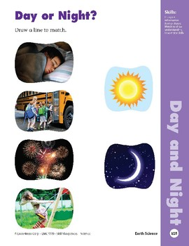 Unit 3: Day and Night (Skill Sharpeners: Science)