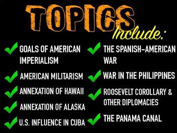 American Imperialism Deluxe Bundle - Keynote Version (MAC USERS ONLY)