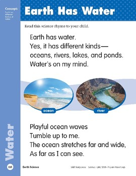 Unit 3: Earth Has Water (Skill Sharpeners: Science)