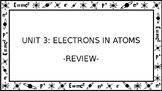 Unit 3 Electrons in Atoms Wall Walk Review Game