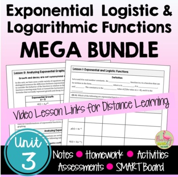 PreCalculus: Exponential Logistic and Logarithmic Function