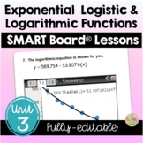 Exponential & Logarithmic Functions SMART Board® (PreCalcu