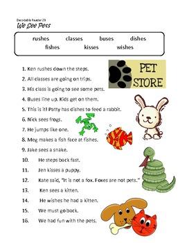 Unit 3 Fluency Sentences for Decodable Readers