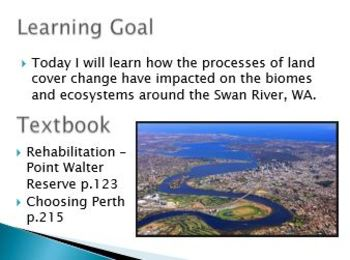 Unit 3 Geography Landcover and Climate Change  ATAR Teaching Package