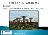 Unit 3 Geography Landcover and Climate Change  ATAR Teachi