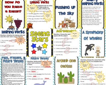 Unit 3 Grammar Interactive PowerPoints