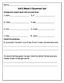 Unit 3 Grammar Test