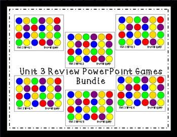Unit 3 Interactive Review Games for Smart Notebook. Reading Street. First Grade.
